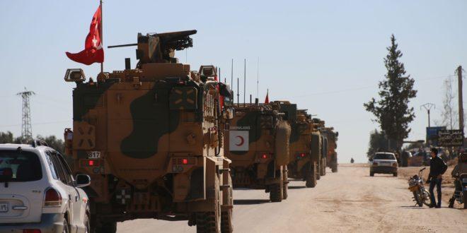 دخول الدورية التركية الثانية إلى قرية اشتبرق