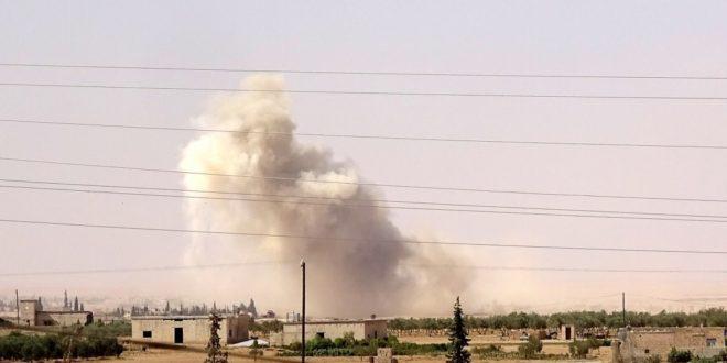 شهيد وجرحى مدنيون بقصف مدفعي لقوات نظام الأسد على المناطق المحررة شمالي سوريا