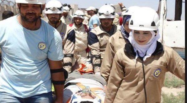 المرأة السورية عنصر فعال في الدفاع المدني الخوذ البيضاء لإنقاذ